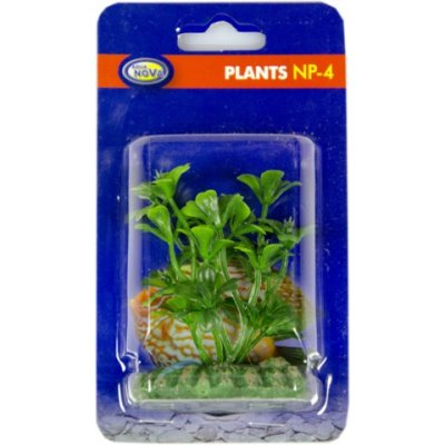 AQUA NOVA NP-4 0440 Sztuczna roślina akwariowa 4cm