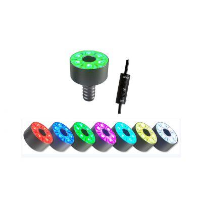 RING LR 15 LED RGB SMD ZE STEROWNIKIEM 3,8W kolor