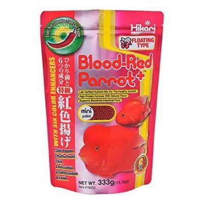 HIKARI BLOOD-RED PARROT PLUS MINI 333G POKARM