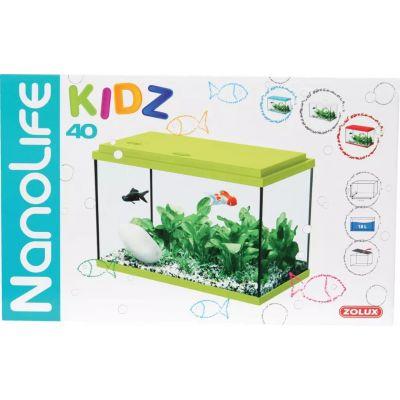 ZOLUX Akwarium Nanolife KIDZ 35 zielony