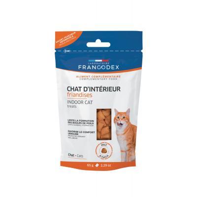 FRANCODEX Przysmak dla kotów zapobiega zakłaczeniom 65 g