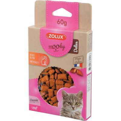 ZOLUX Przysmak MOOKY DELIES dla kota - Piękna sierść 60g