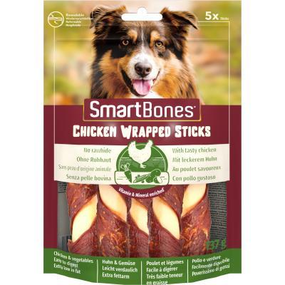 Smart Bones Chicken Wrap Sticks medium 5 szt. Przysmak