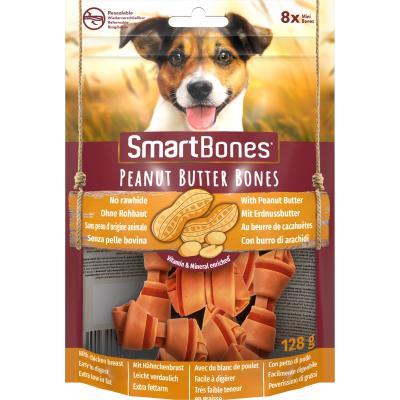 Smart Bones Peanut Butter mini 8 szt. Przysmak
