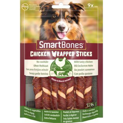 Smart Bones Chicken Wrap Sticks mini 9 szt. Przysmak