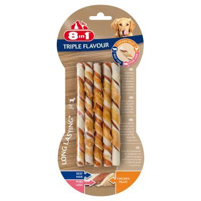 Przysmak 8in1 Triple Flavour Twisted Sticks 10 szt.