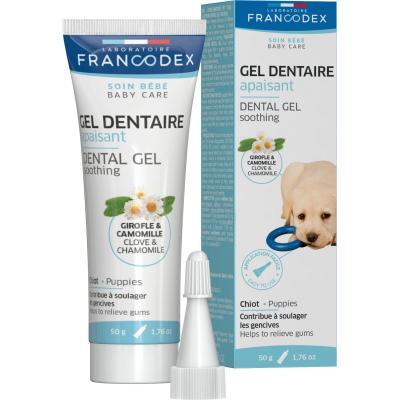 FRANCODEX Łagodzący żel dentystyczny dla szczeniąt 50g