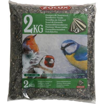 ZOLUX Słonecznik dla ptaków ogrodowych 2kg
