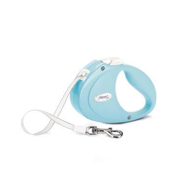 FLEXI Smycz automatyczna Puppy taśma 2m jasnoniebieski