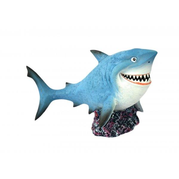 Ozdoba akwariowa Rekin Duży - 14 cm
