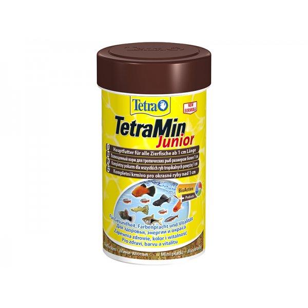 Pokarm TETRA MIN JUNIOR 100ml narybek orginał