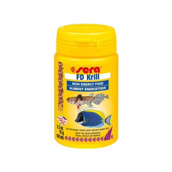 SERA FD KRILL 100ml Liofilizowany kryl