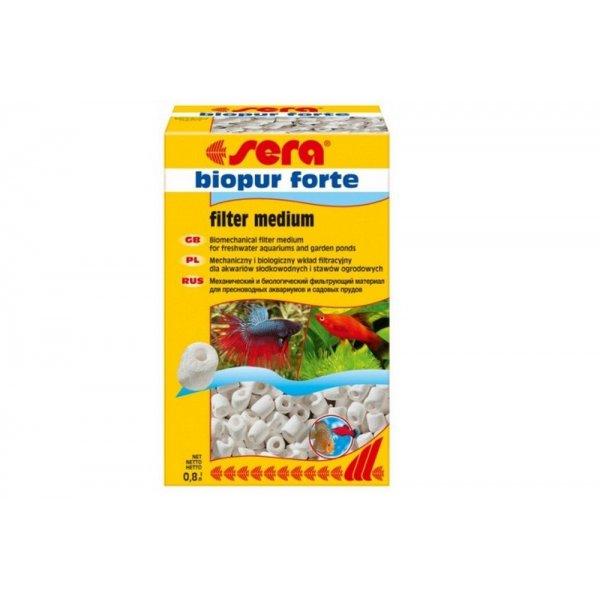 SERA BIOPUR FORTE 0,8L Wkład biologiczny