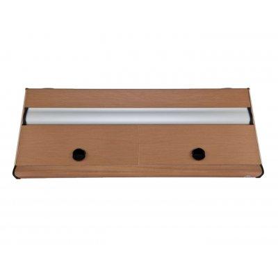 DIVERSA Pokrywa aluminiowa PLATINO T8 80x35 2x18W
