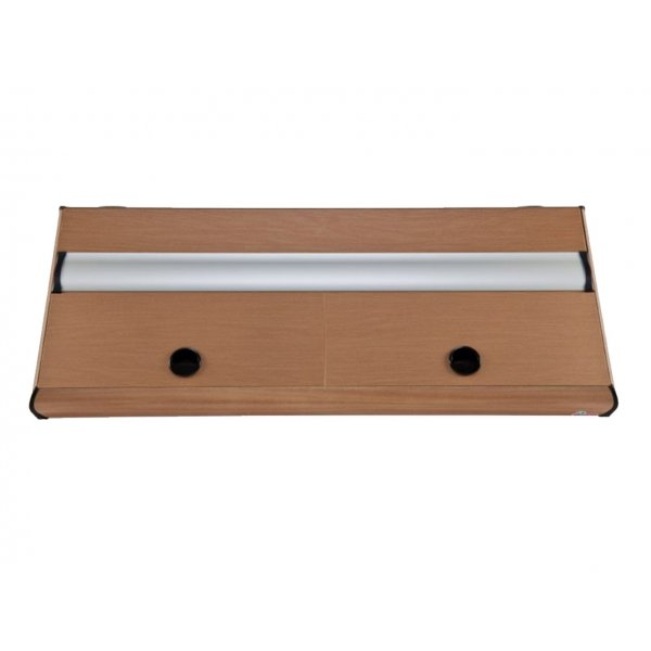 DIVERSA Pokrywa aluminiowa PLATINO T8 150x50 4x36W