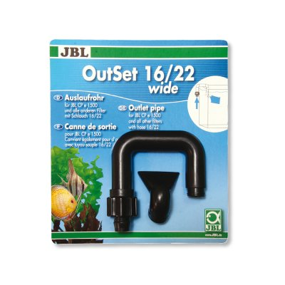 JBL OUTSET 12/16mm dysza wylotowa do filtra