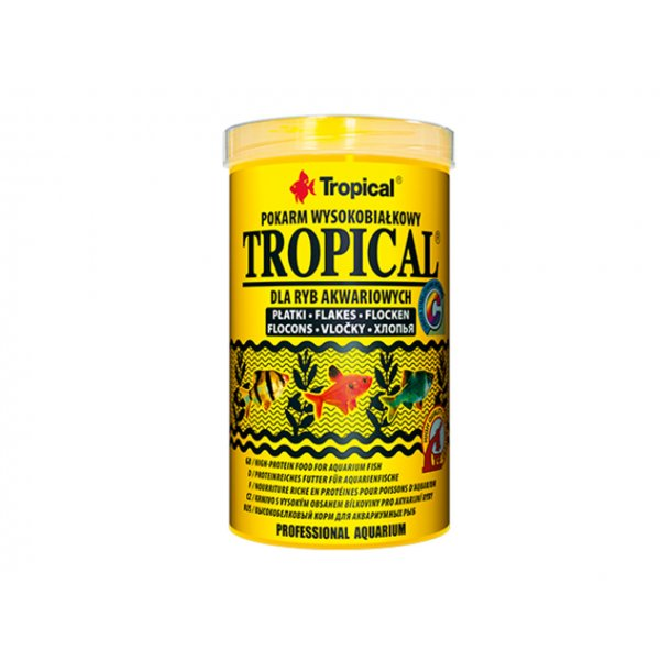 TROPICAL TROPICAL 500ML (100g) ORGINAŁ (płatki)