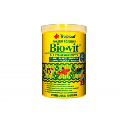 TROPICAL BIO-VIT 1000ML (200g) ORGINAŁ (płatki)