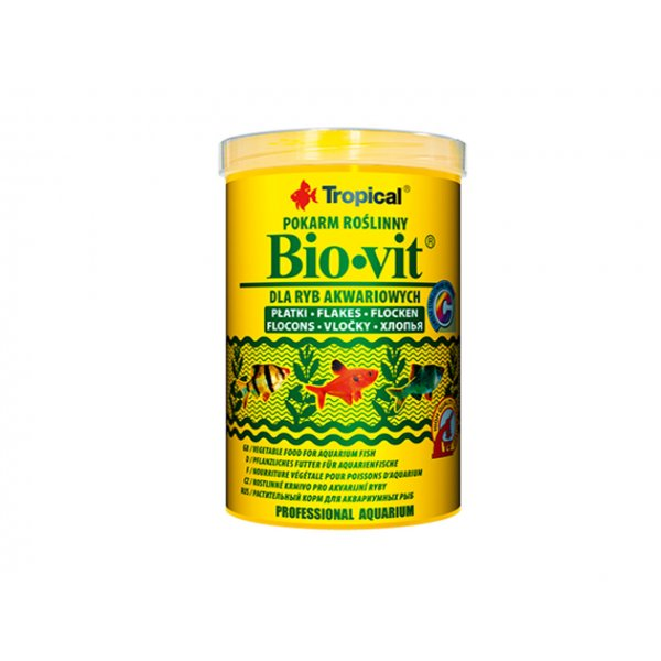 TROPICAL BIO-VIT 500ML (100g) ORGINAŁ (płatki)