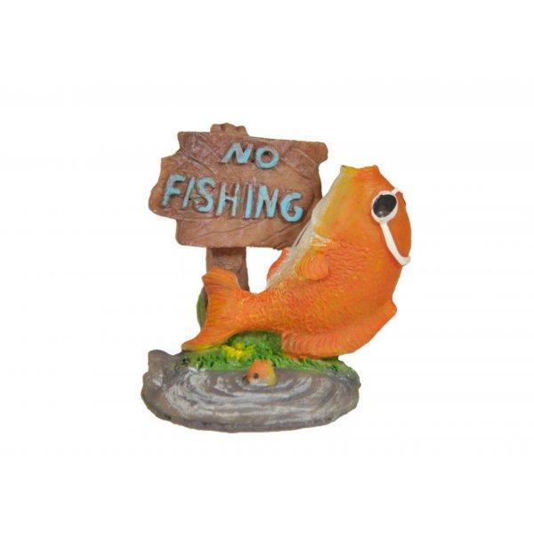 Ozdoba akwariowa RYBKA NO FISHING - 6cm