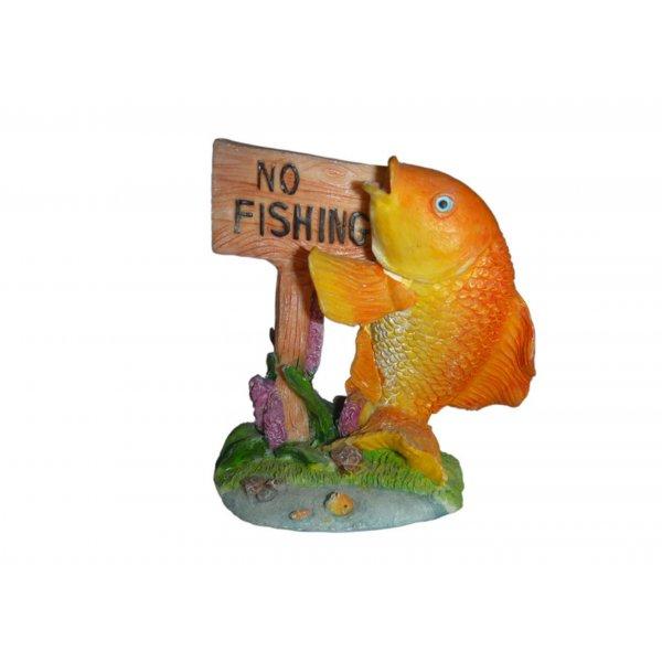 Ozdoba akwariowa RYBKA NO FISHING - 7,5 cm