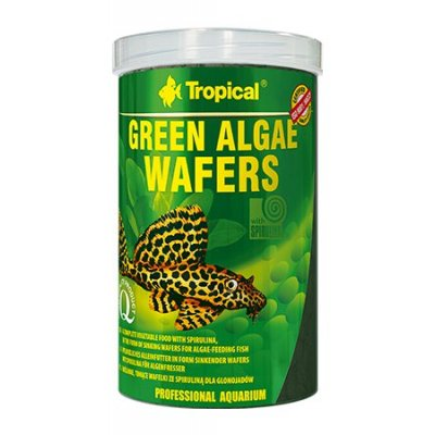 TROPICAL GREEN ALGAE WAFERS 250ml orginał (chips)