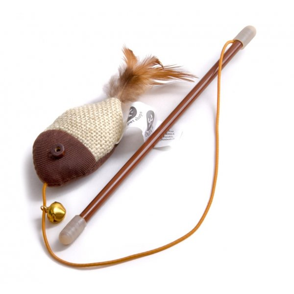 Bawełniana zabawka dla KOTA JkAnimals na wędce 18