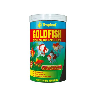 TROPICAL GOLDFISH COLOUR PELLET 1000ML (300g)ORGIN
