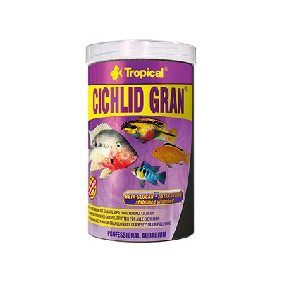 TROPICAL CICHLID GRAN 100ML (55g) ORGINAL