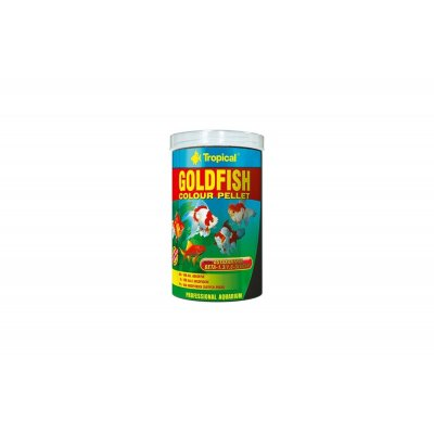 TROPICAL GOLDFISH COLOUR PELLET 100ML (30g)ORGINA