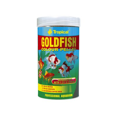 TROPICAL GOLDFISH COLOUR PELLET 250ML (75g)ORGINA