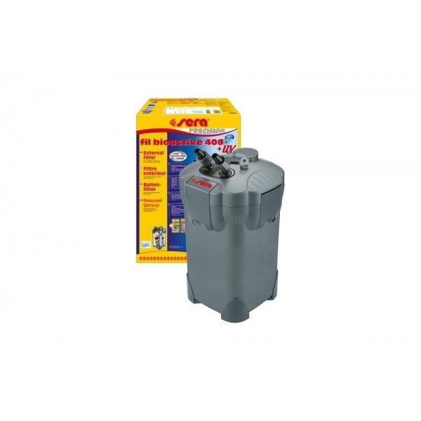 SERA BIOACTIVE 400 UV Filtr zewnętrzn akw 240-450l