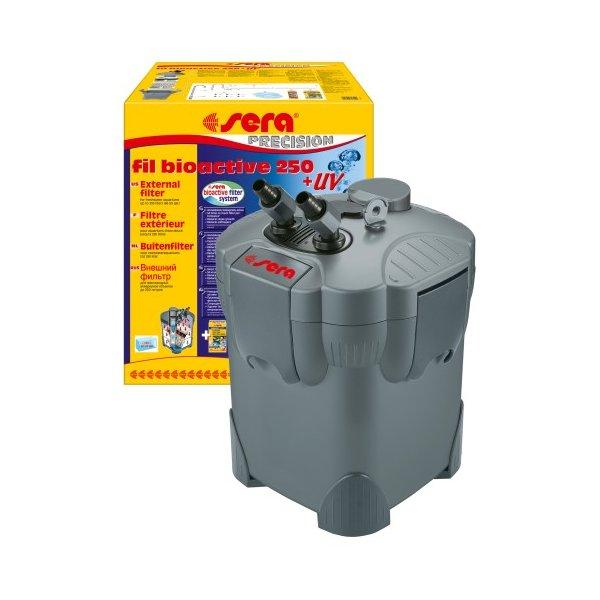 SERA BIOACTIVE 250 UV Filtr zewnętrzn akw 130-250l
