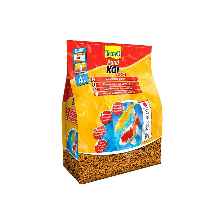 Tetra pond koi sticks 50 litr w for Koi pond sticks