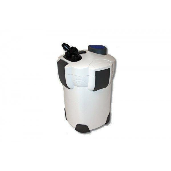 Filtr zewnętrzny 1400l/h UV 9W+ wyposazenie+wkłady