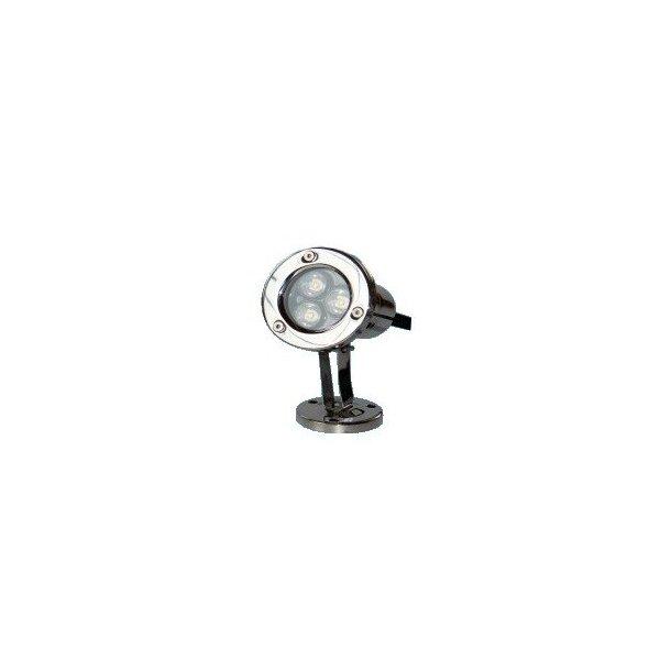 Profesjonalna wodoodporna lampa LED 3x1W Kwasoodp