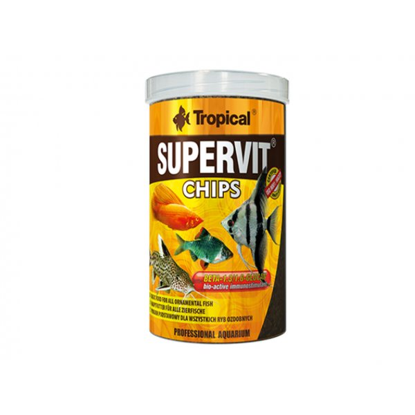 TROPICAL SUPERVIT CHIPS 250ML (130g) ORYGINAŁ