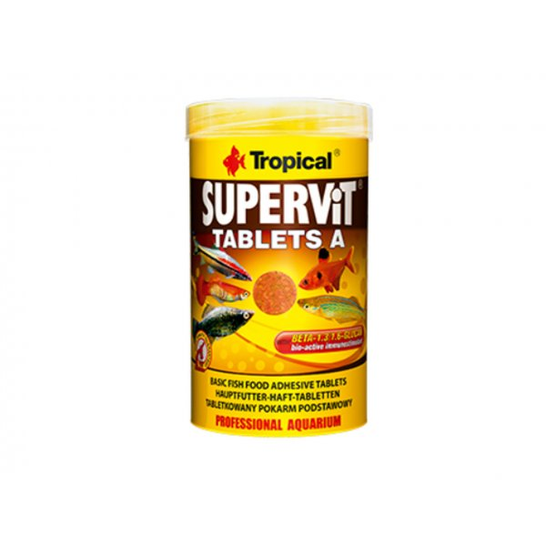 TROPICAL SUPERVIT TABLETS A 250ML (150g) ORYGINAŁ