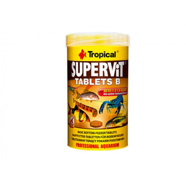 TROPICAL SUPERVIT TABLETS B 50ML (36g) ORYGINAŁ