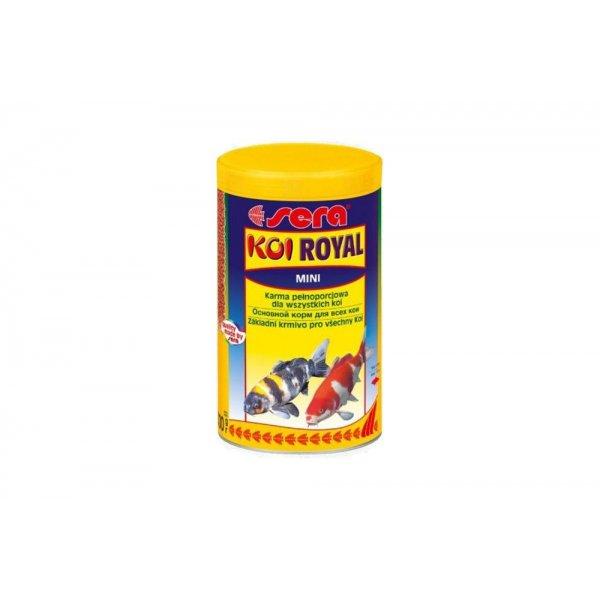 SERA Koi Royal MINI 1l. Młode ryby Jakość