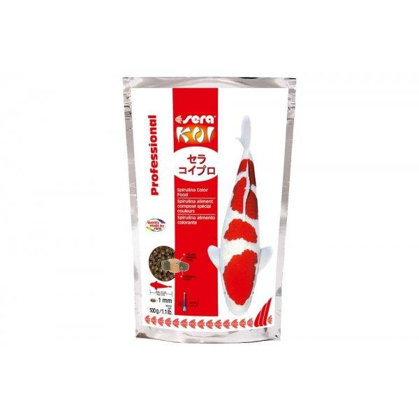 SERA Koi Professional spirulina color food 500g