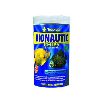 TROPICAL BIONAUTIC CHIPS 1000ml(520g)ORGINAL