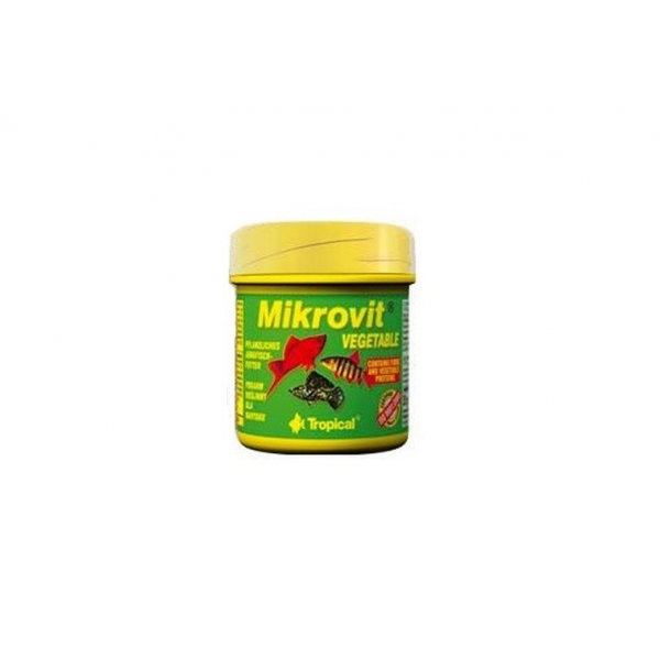 TROPICAL MIKROVIT VEGETABLE 75ml (35g) ORGINAL