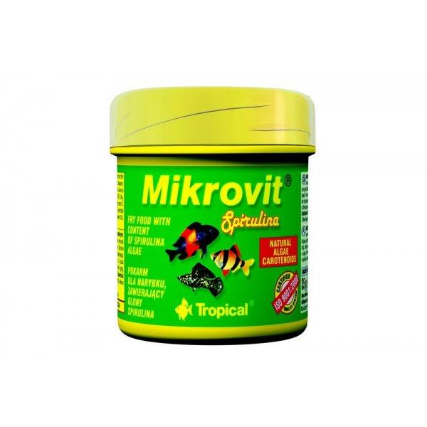 TROPICAL MIKROVIT SPIRULINA 75ml (35g) ORGINAL