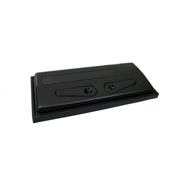 Pokrywa ABS 100x40 prosta 2x30W elektroniczna+UZDA
