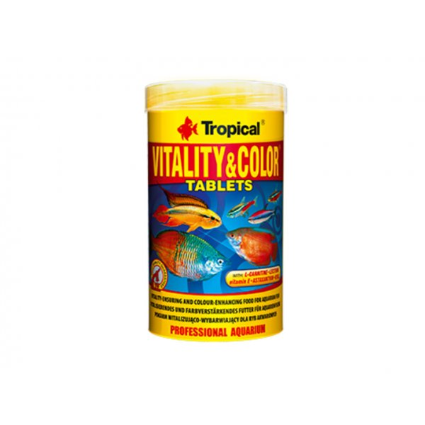 TROPICAL VITALITY & COLOR 250ML TABLETS (150g)