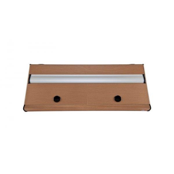 DIVERSA Pokrywa aluminiowa PLATINO T5 200x60 2x80W