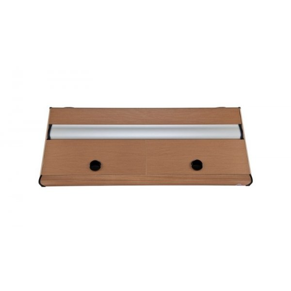 DIVERSA Pokrywa aluminiowa PLATINO T5 200x80 2x80W