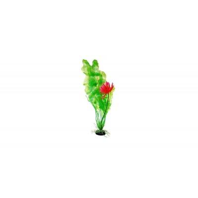 Sztuczna roślina akwariowa Onowodek kwitnący 30cm