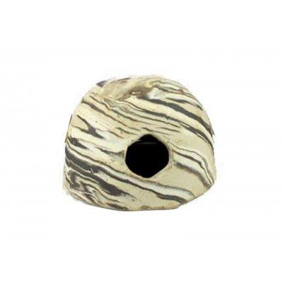 AQUAWILD Kokos ceramiczny grota rozmiar L SAND